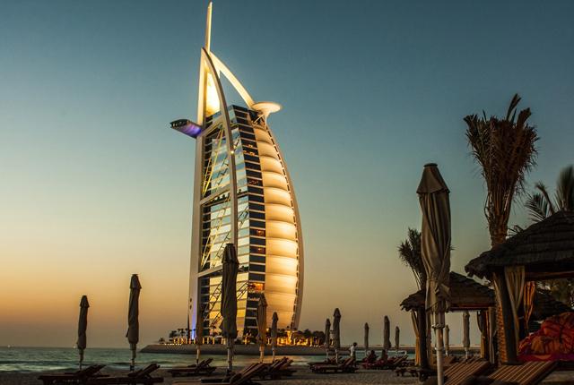 resor till dubai - burj al arab