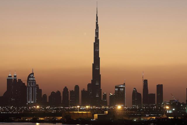 resor till dubai - burj khalifa